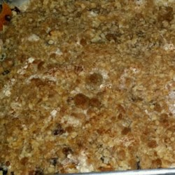 Apricot-Cherry Bars With Oatmeal Crumble Topping Recipe