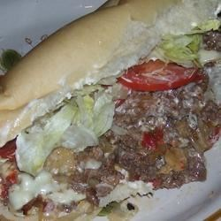 Griddle Style Philly Steak Sandwiches Recipe