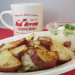 Diner-Style Baked Potato Home Fries Recipe