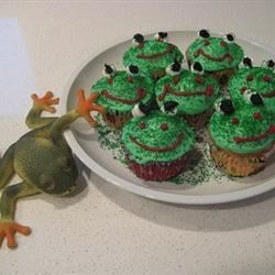 froggy cupcakes