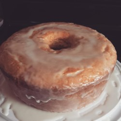 Lemon-Buttermilk Pound Cake with Aunt Evelyn's Lemon Glaze Recipe