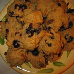 Blueberry-Goji Berry Drop Cookies