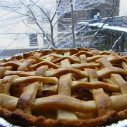 Glazed Apple Cream Pie Recipe