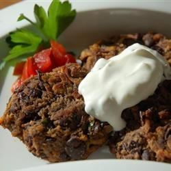 Spicy Black Bean Cakes