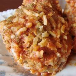 Porcupine Meatballs III Recipe