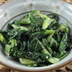 Easy Bok Choy Recipe