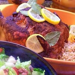 Roasted Curried Chicken with Couscous Recipe