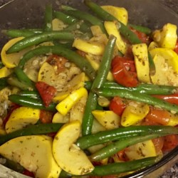 Squash and Green Bean Saute Side Dish Recipe