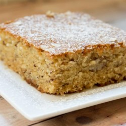 Banana-Oatmeal Cake (Screwed-Up Mother's Day Cake)  Recipe