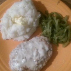 Pork Chops with Delicious Gravy Recipe
