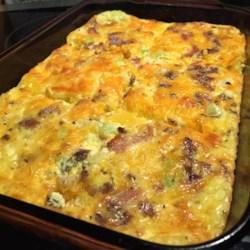 Bacon Cheese Frittata Recipe - Allrecipes.com