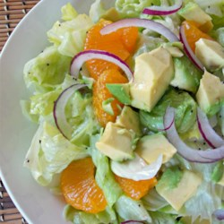 Unique Fruity Green Salad Recipe