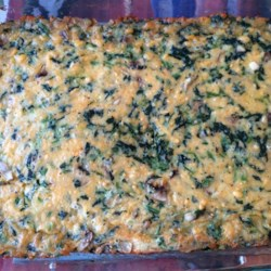 Spinach Bars Recipe