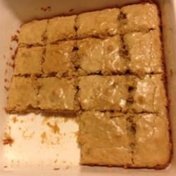 No-Chocolate Blondie Brownies Recipe