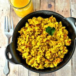 Indian-Style Scrambled Eggs Recipe