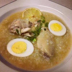 Chicken Arroz Caldo (Chicken Rice Porridge) Recipe