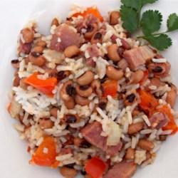 Black-Eyed Peas and Rice Recipe