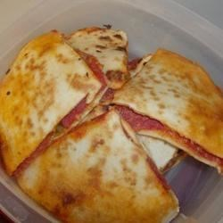 delicious portable pizza