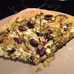 Mediterranean Whole Wheat Pizza Recipe