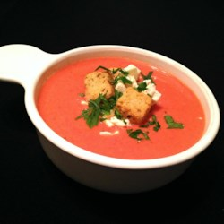 Pressure Cooker Cream of Tomato Soup