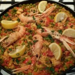 Maria's Paella Recipe