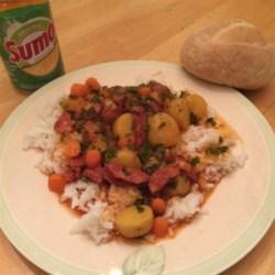 Portuguese Chourico Stew Recipe