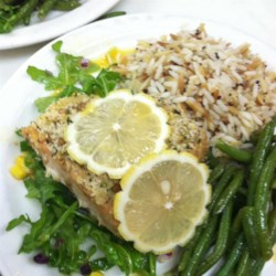 Lemon Panko Crusted Salmon Recipe
