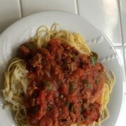 Easy Italian Sausage Spaghetti Recipe