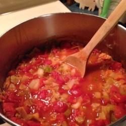 Cabbage, Potato, and Tomato Soup Recipe