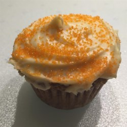 Carrot Cake Cupcakes with Cream Cheese Icing Recipe