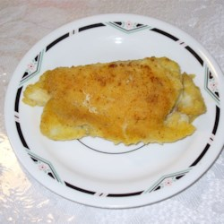 Halibut with Garlic Sauce Recipe