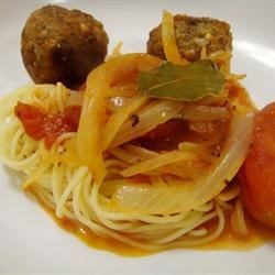RO's Spaghetti and Meatballs Recipe