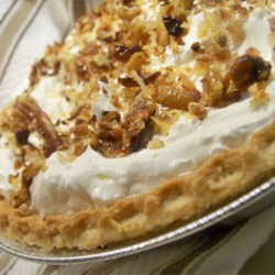 Toasted Coconut, Pecan, and Caramel Pie Recipe