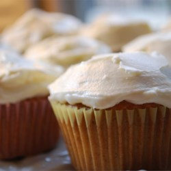 Banana Cupcake with Cream Cheese Icing