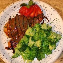Strawberry Balsamic Chicken