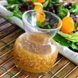 Oriental Style Ginger Dressing Recipe