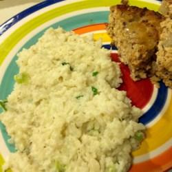 Rockin' Good Smashed Cauliflower with Garlic Recipe