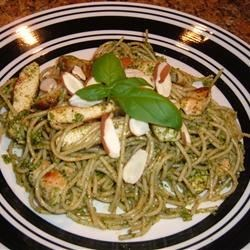 Grilled Chicken and Angel Hair Pasta