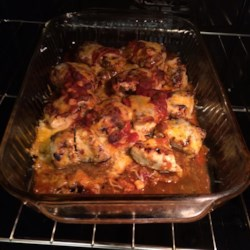 Healthy Mexican Chicken Bake Recipe