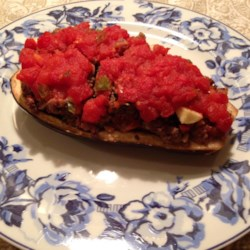 Baked Eggplant with Ground Beef Recipe
