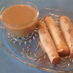 Mocha Cigars with Coffee Cream Recipe