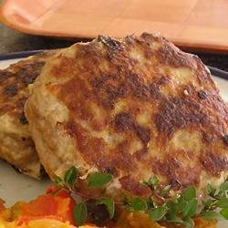 Amy's Delicious Turkey Burgers Recipe