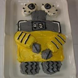 Wall-e Banana Cake