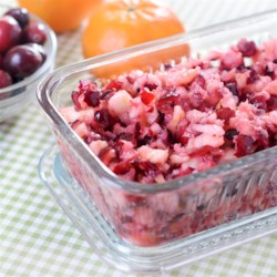 Fresh Cranberry Relish Recipe