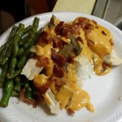 Chicken Breasts in a Sour Cream and Wine Sauce Recipe