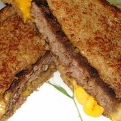 Spicy Patty Melt - Delicious!