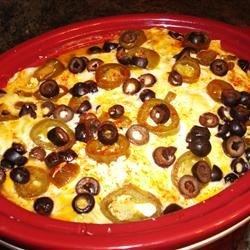White Chicken Enchilada Slow-Cooker Casserole Recipe