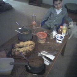 Feast!!! Alex and I had a date night. :)