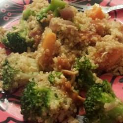 Quinoa with Sweet Potatoes and Broccoli Recipe