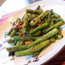 Photo of Asparagus and Cashews by Shelly Domke
